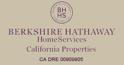Berkshirt Hathaway Home Services - California Propertes - CA DRE 00909905